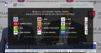 Výber politickej strany