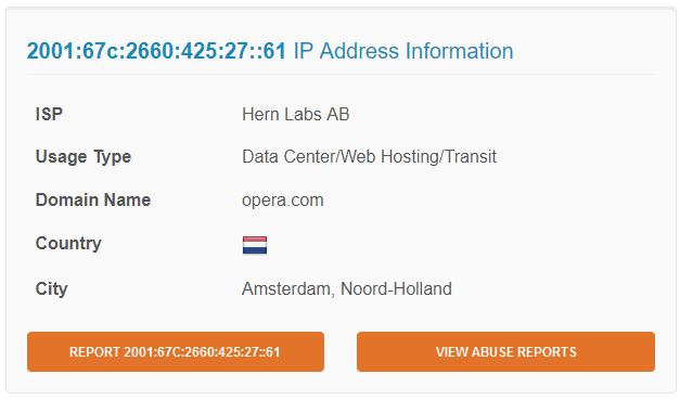 IPv6 adresa a jej vlastník a účel použitia