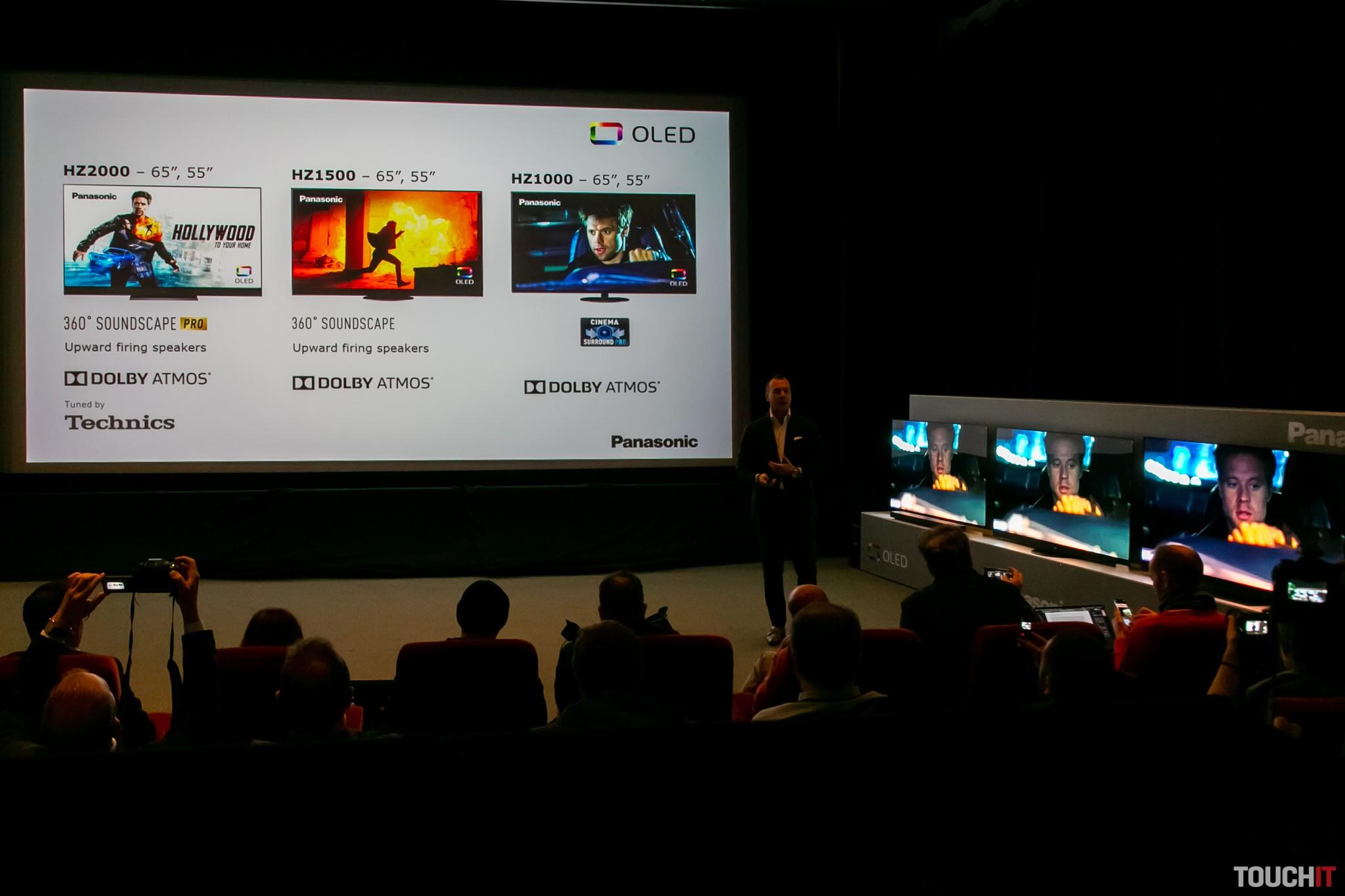 Najlepšie OLED televízory Panasonic