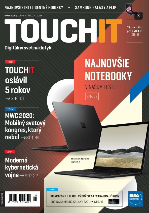 Nové vydanie časopisu TOUCHIT