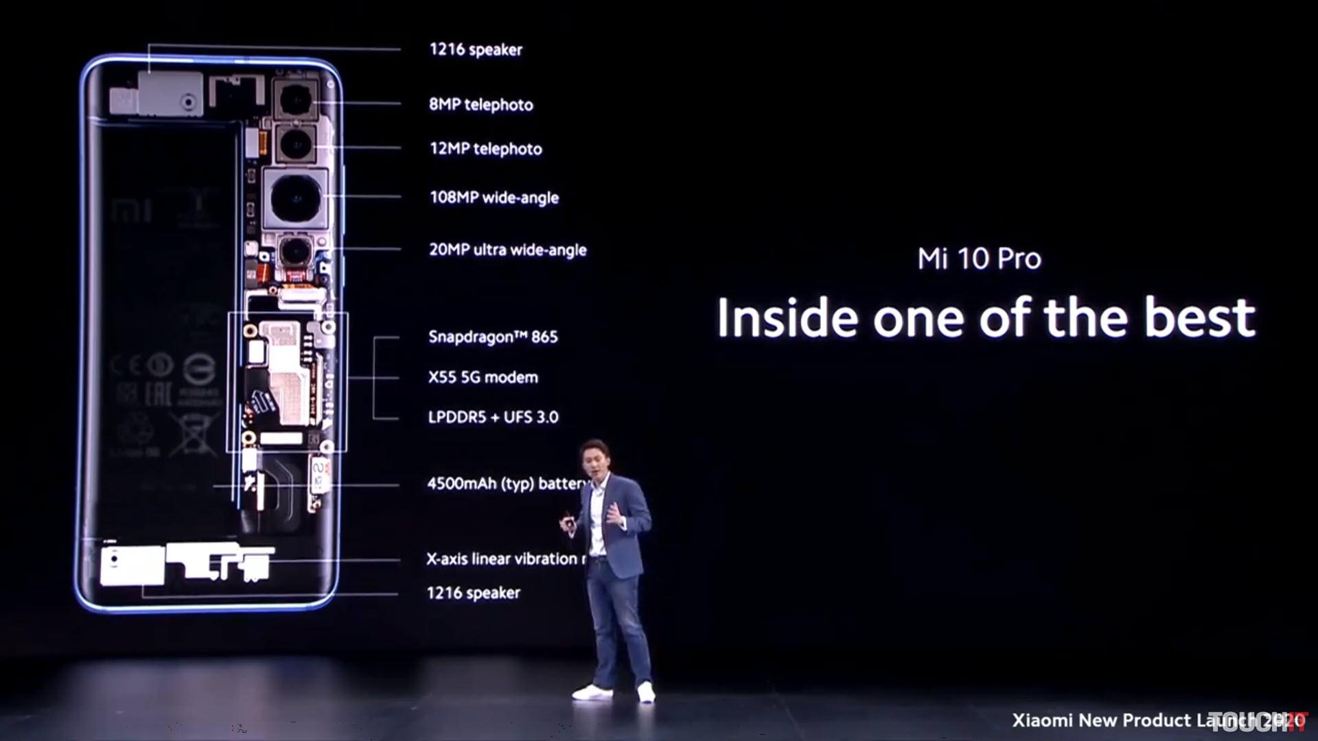 Detail Xiaomi Mi 10 Pro