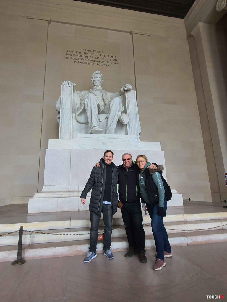 Na návšteve vo Washingtone