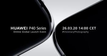 Huawei P40 online stream