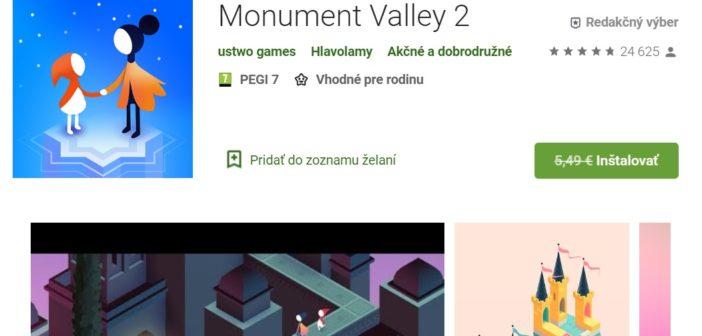 Monument Valley 2 zadarmo