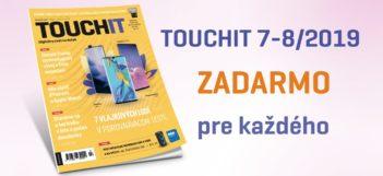 Stiahnite a čítajte zadarmo TOUCHIT 7-8/2019 v PDF