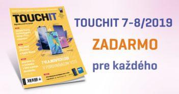 TOUCHIT 7-8/2019 zadarmo