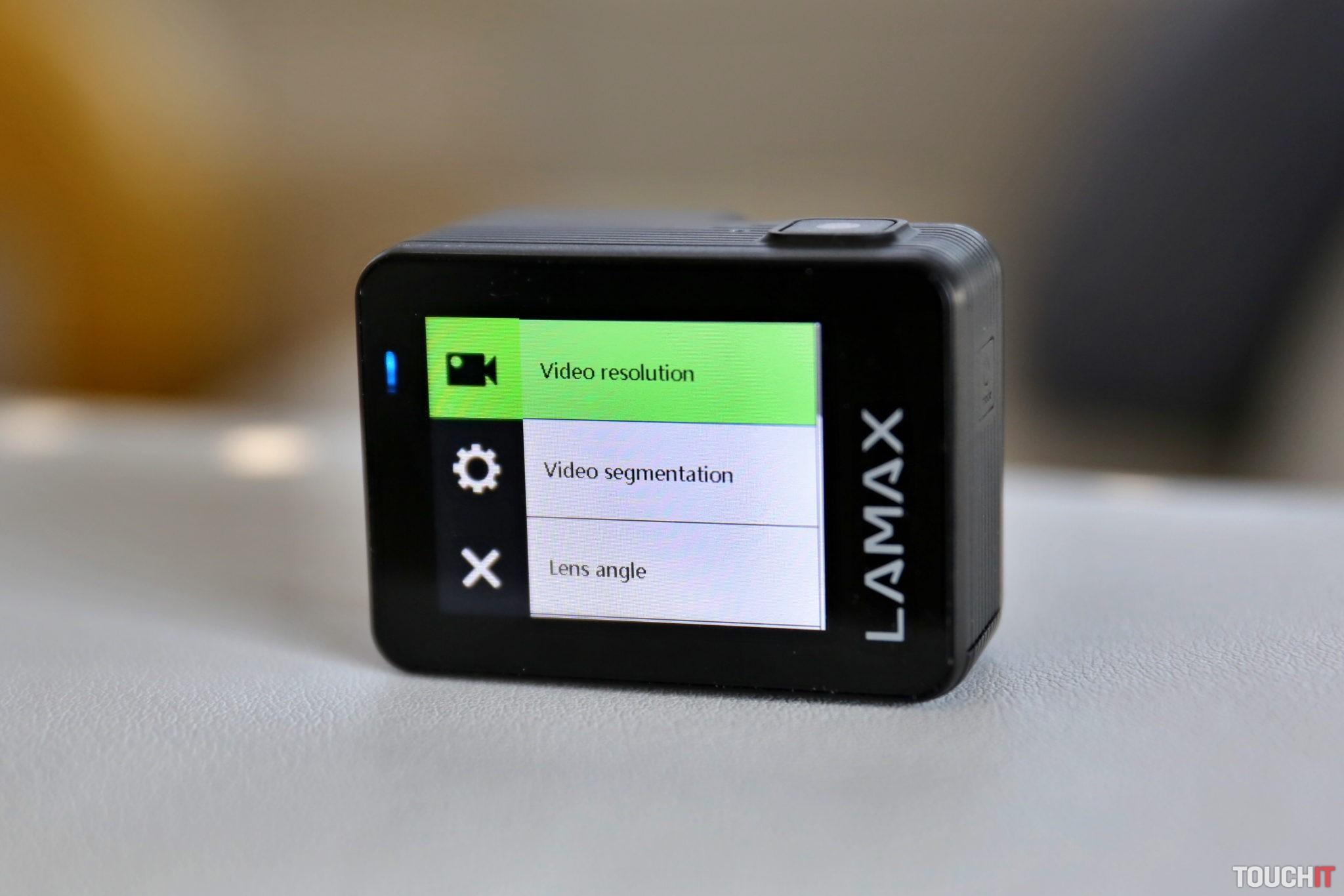 Dotykové ovládanie na Lamax W9