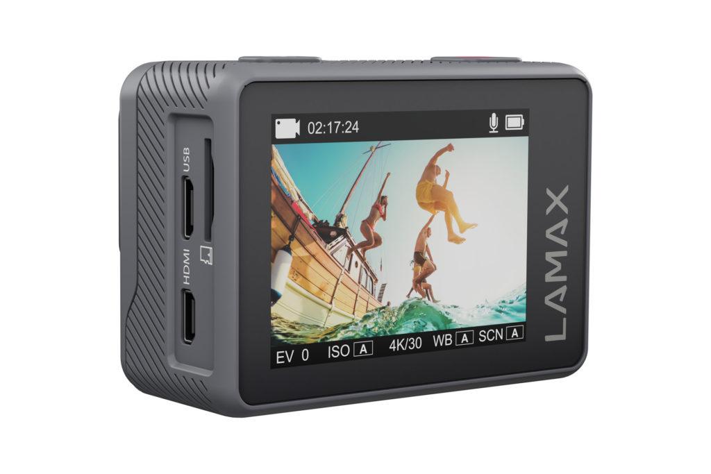 Kamera Lamax X10.1 a veľký farebný displej