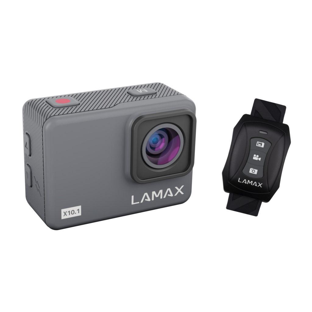Kamera Lamax X10.1 s náramkovým ovládačom
