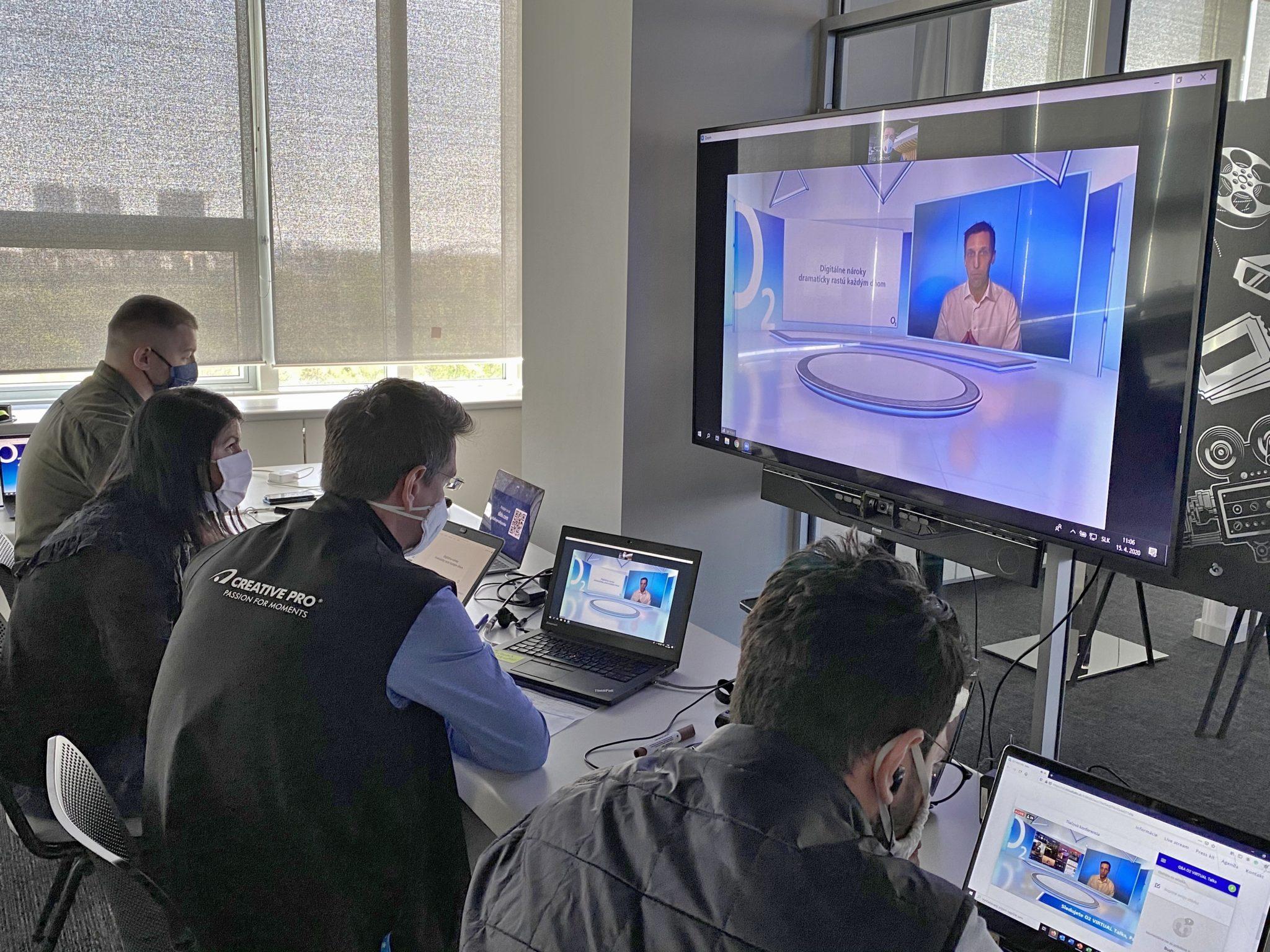 Pohľad do IT centra virtuálneho štúdia