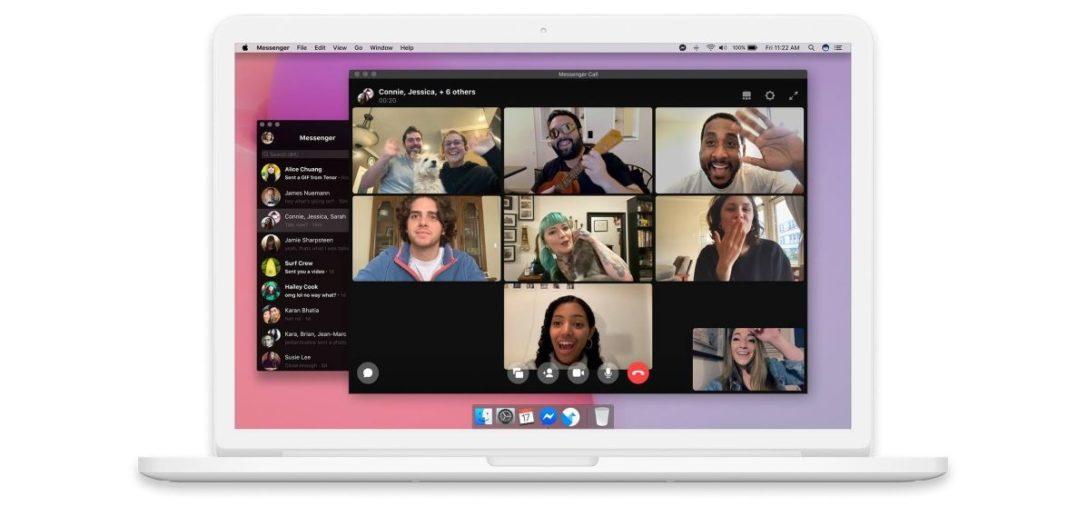 Facebook Messenger pre Windows a macOS