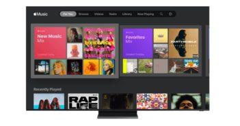 Samsung TV so službou Apple Music