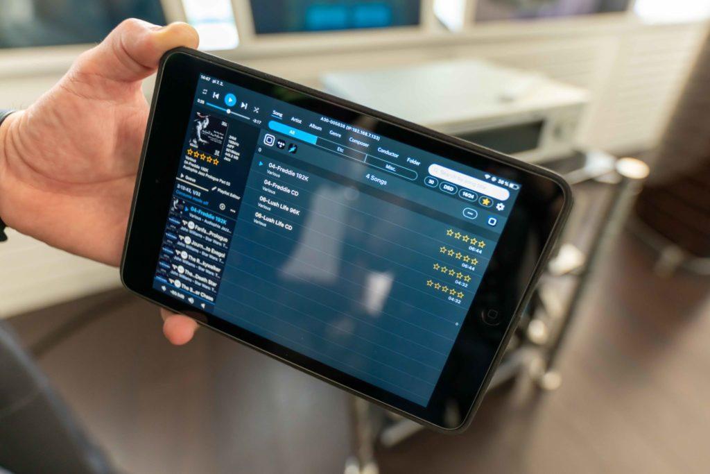 Aplikácia Aurender Cinductor je najlepší spôsob ovládania zariadenia