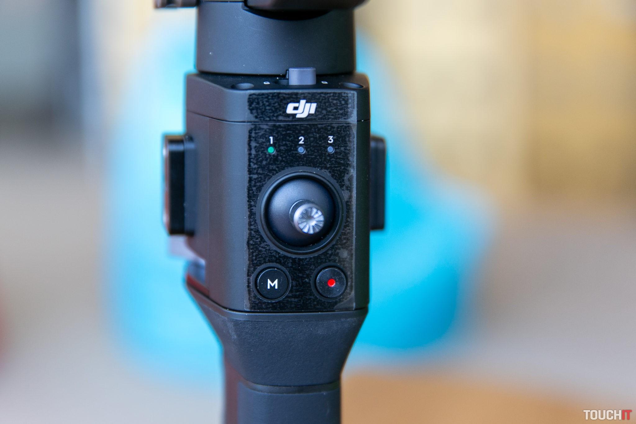 Takto sa ovláda poloha kamery a nastavujú používateľské režimy