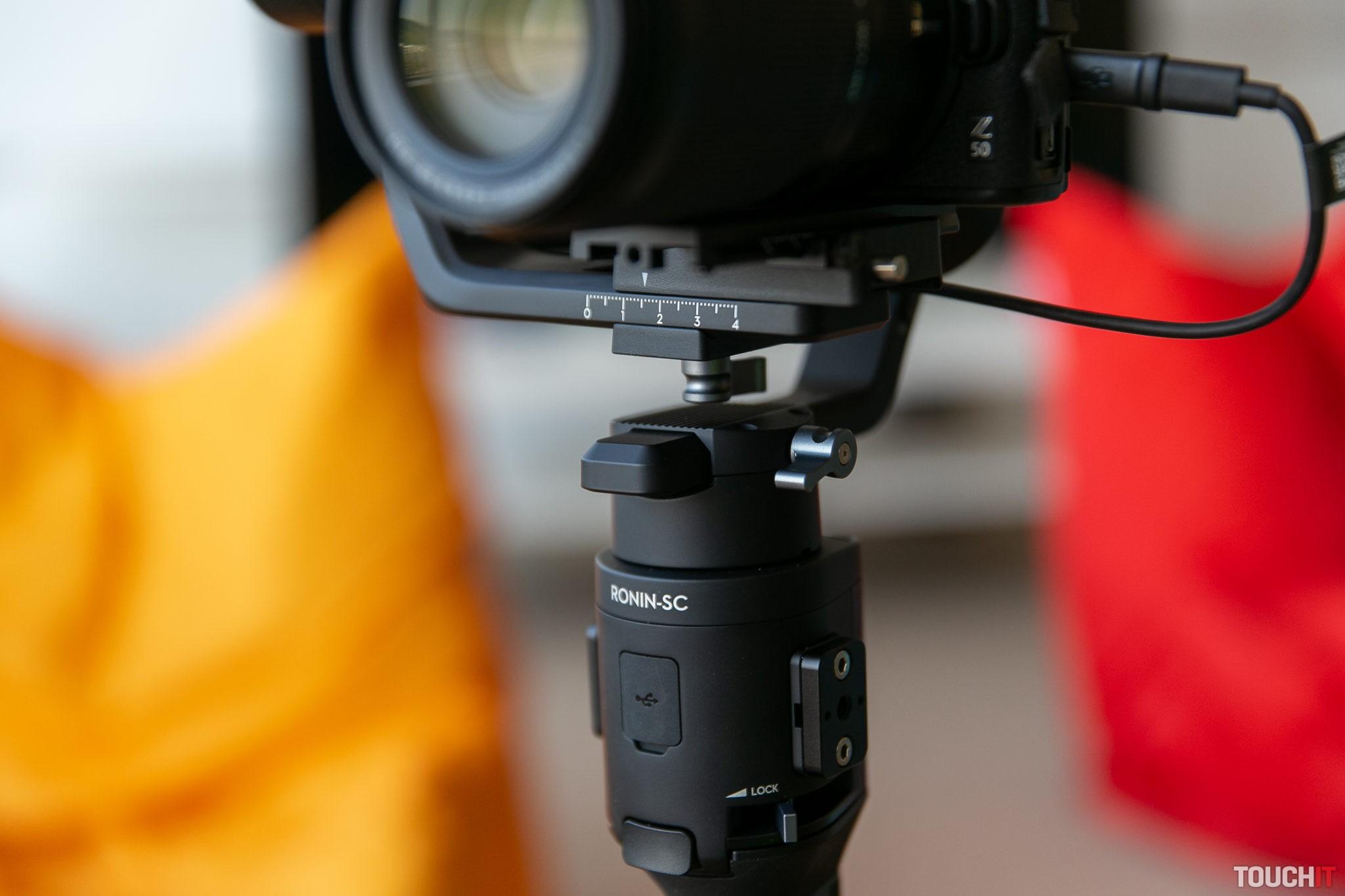 Vyvažovanie je o určené presnej polohy umiestnenia fotoaparátu