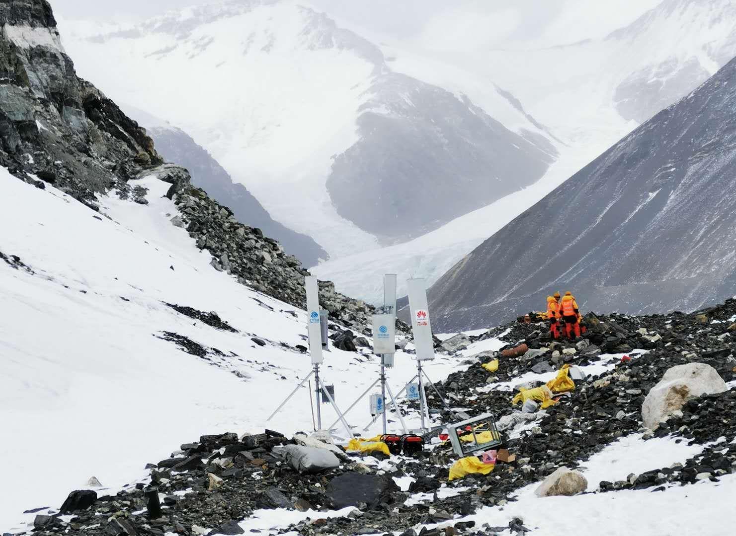 Základňová stanica 5G v nadmorskej výške 6500 mnm