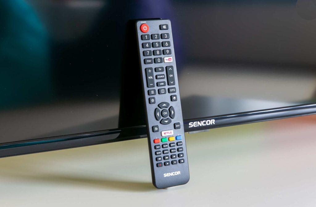 Diaľkové ovládanie stlačidlami na YouTube a Netflix