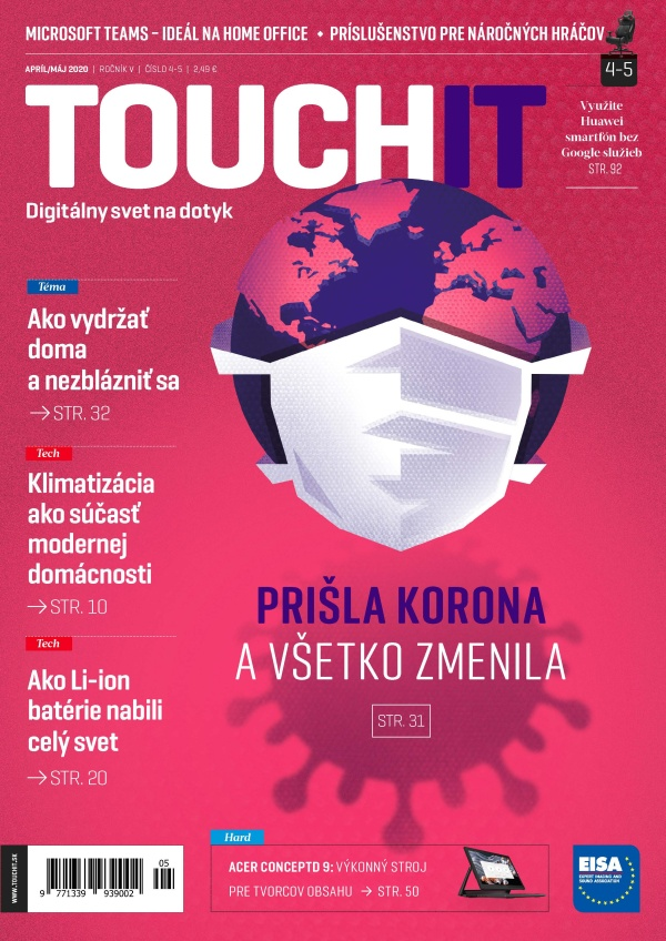 Nové vydanie TOUCHIT už v predaji
