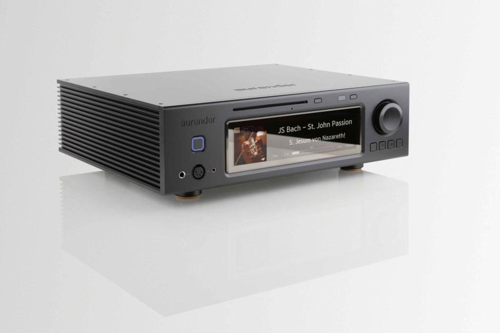 Aurender A30 vplnej kráse sveľkým displejom aCD mechanikou