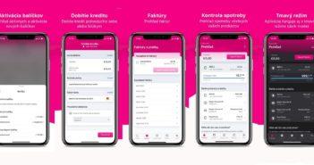 Redizajnovaná aplikácia Telekom