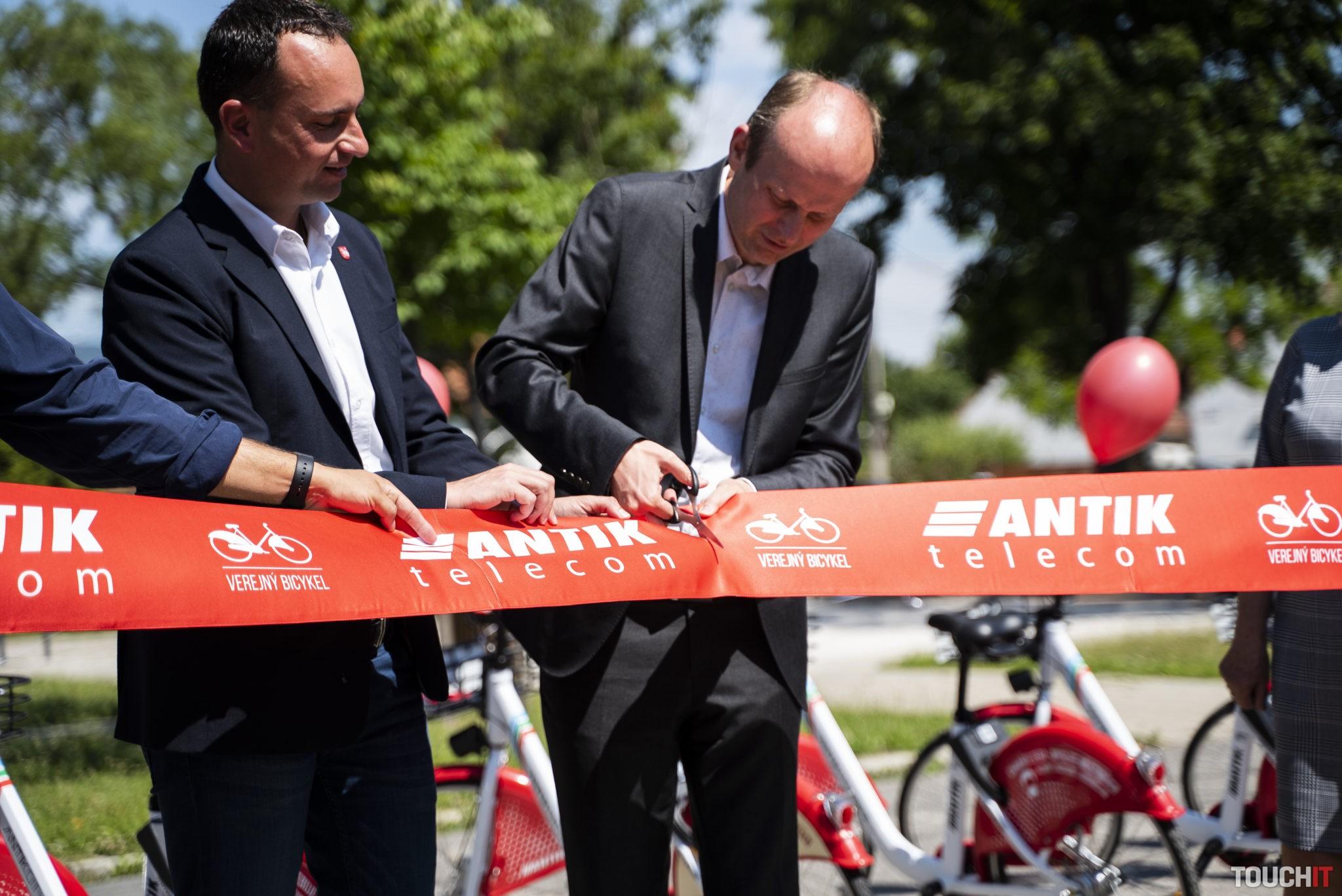 Slávnostné uvedenie mestskej časti Vajnory do služby Verejný bicykel