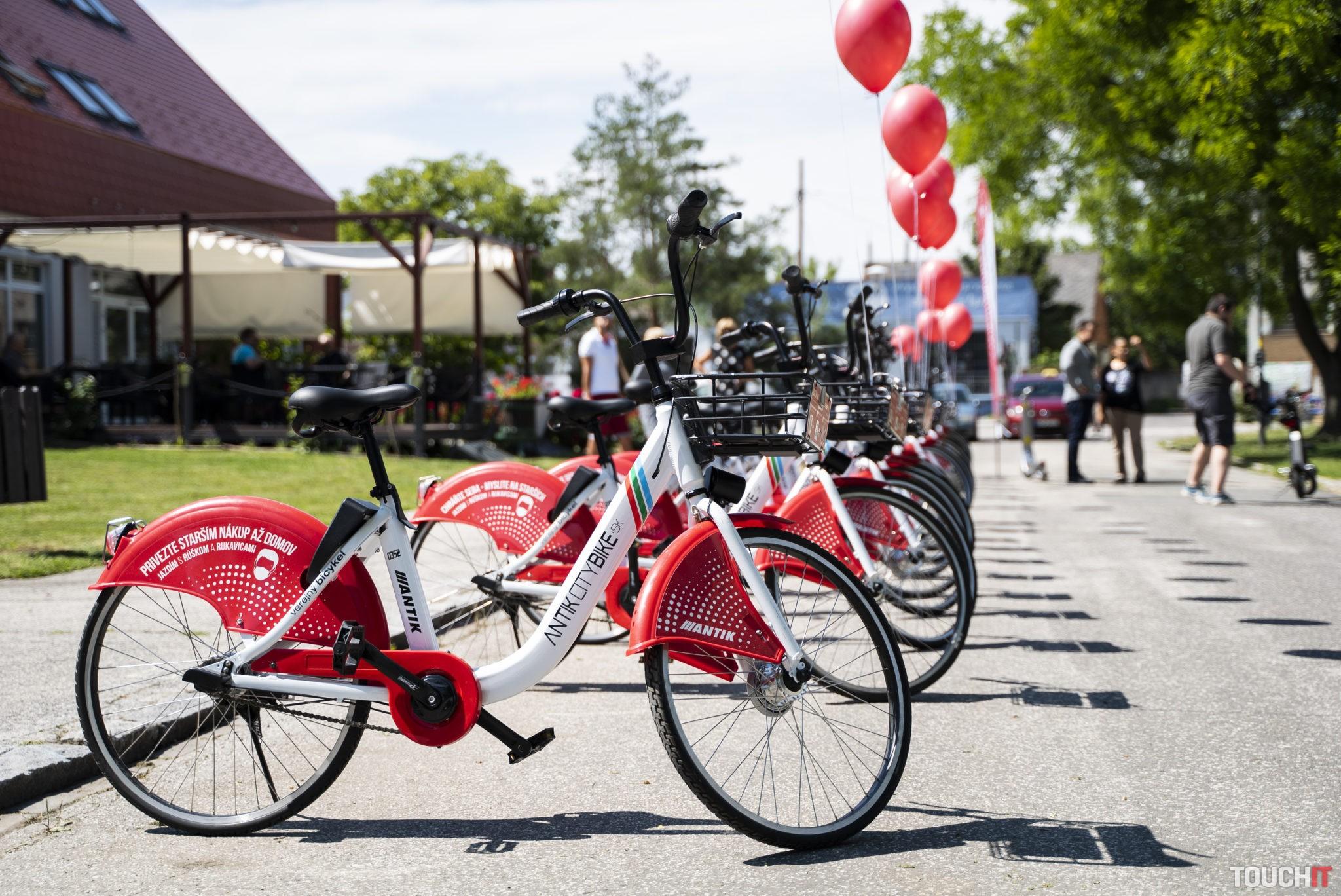 Takto vyzerajú bicykel, ktoré si môžete požičať