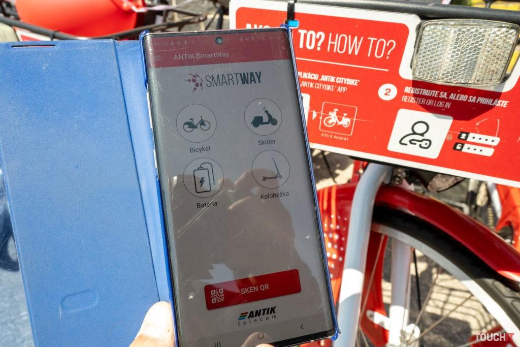 Vypožičanie bicykla cez ANTIK SmartWay