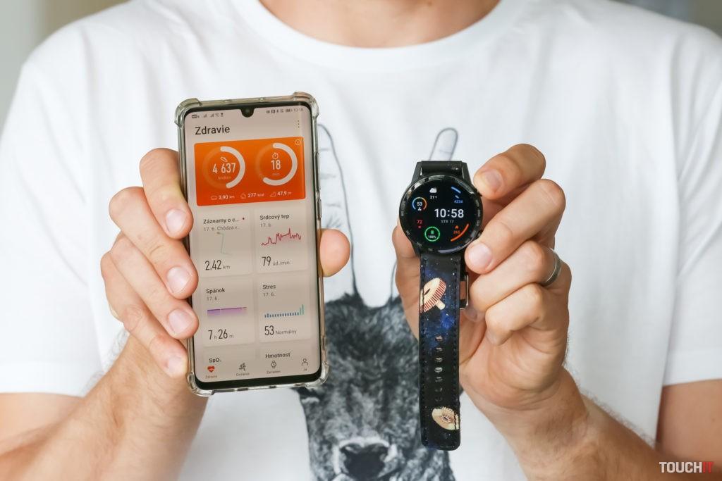 Honor Magic Watch spolupracujú s aplikáciou Huawei Zdravie