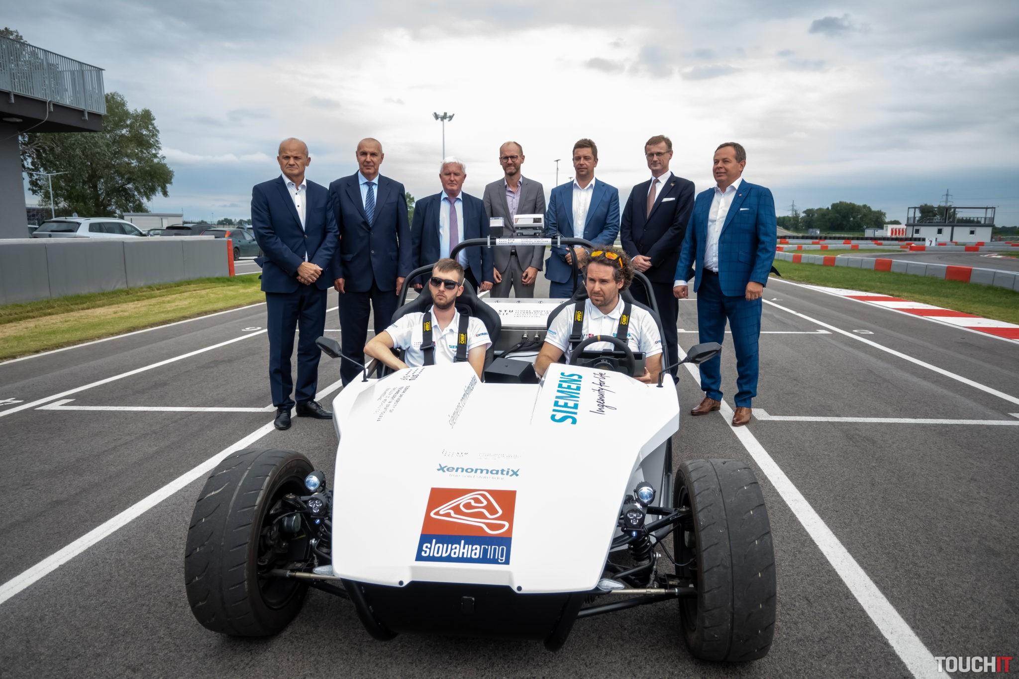 Autonómne auto a jeho podpora