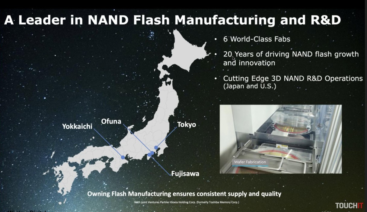 Líder v oblasti NAND pamätí je Japonsko