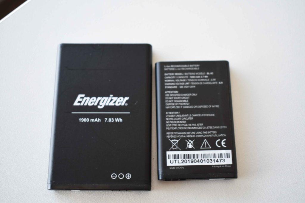Ukážky batérií, ktoré nájdete v telefónoch značky Energizer