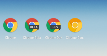 Google Chrome Beta Dev Canary