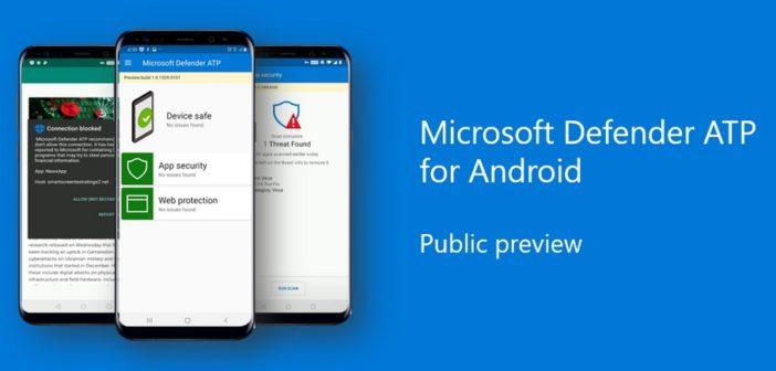 Microsoft Defender pre Android