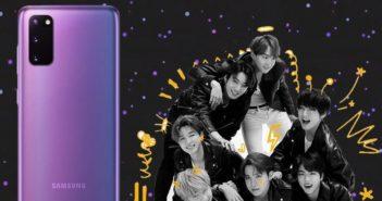 Samsung Galaxy S20 BTS edition