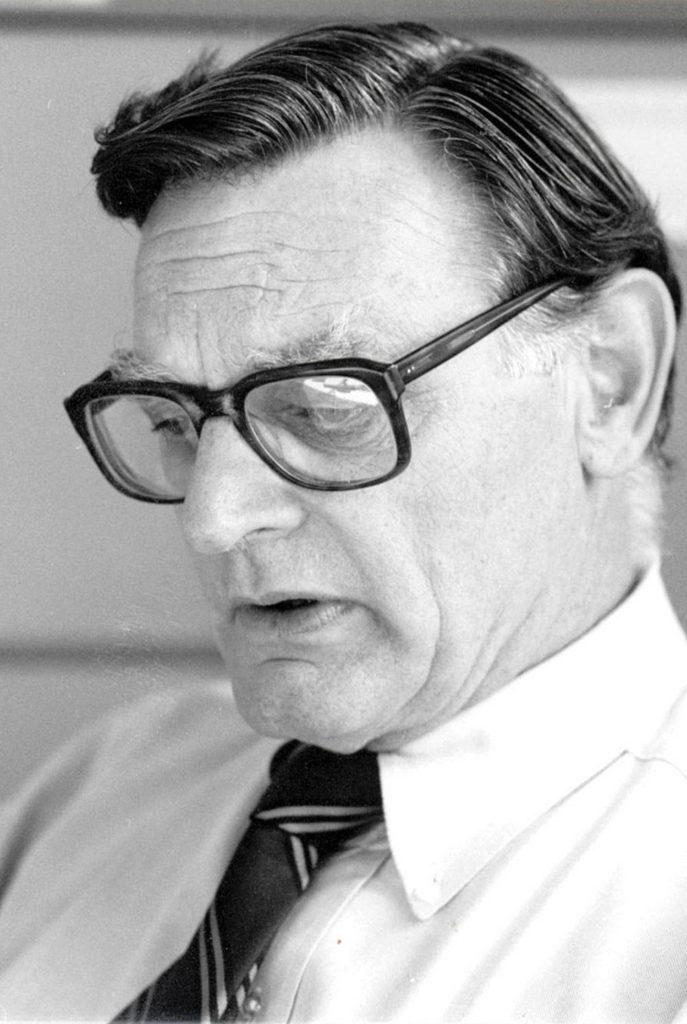 John Goodenough v 80. rokoch minulého storočia na univerzite v Oxforde