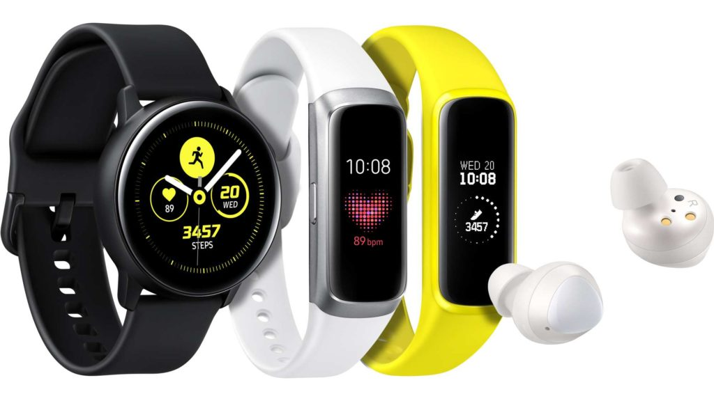 Samsung Galaxy Watch, Fit, Buds