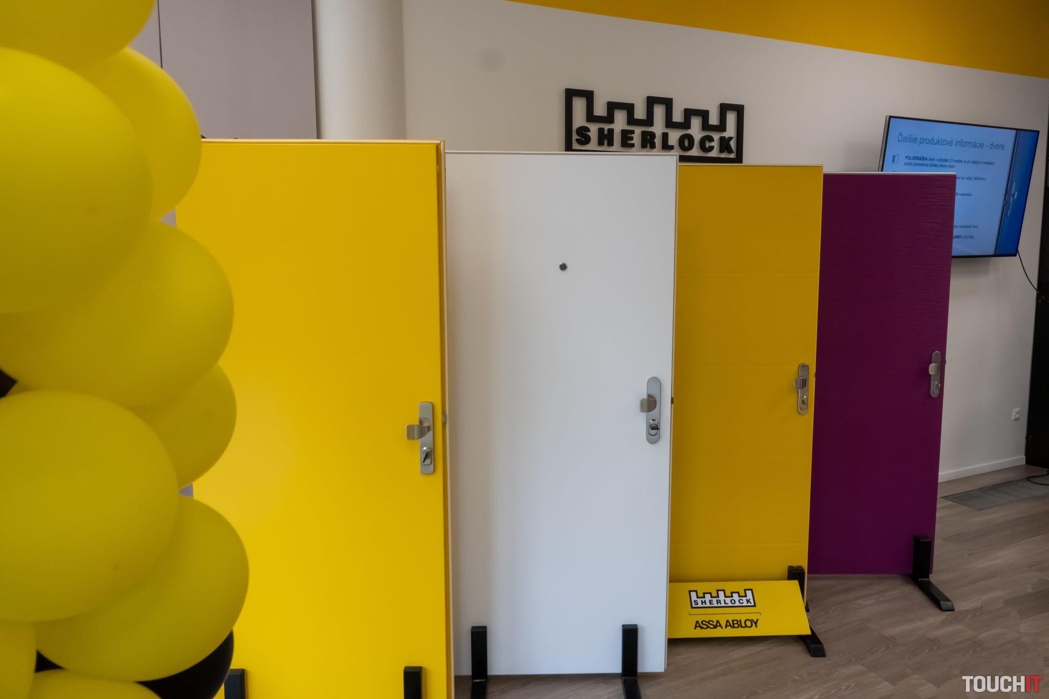 Nové typy dverí SHERLOCK si môžete pozrieť priamo v showroome v Bratislave