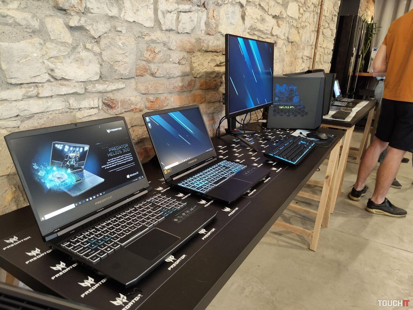 Acer počítače a notebooky
