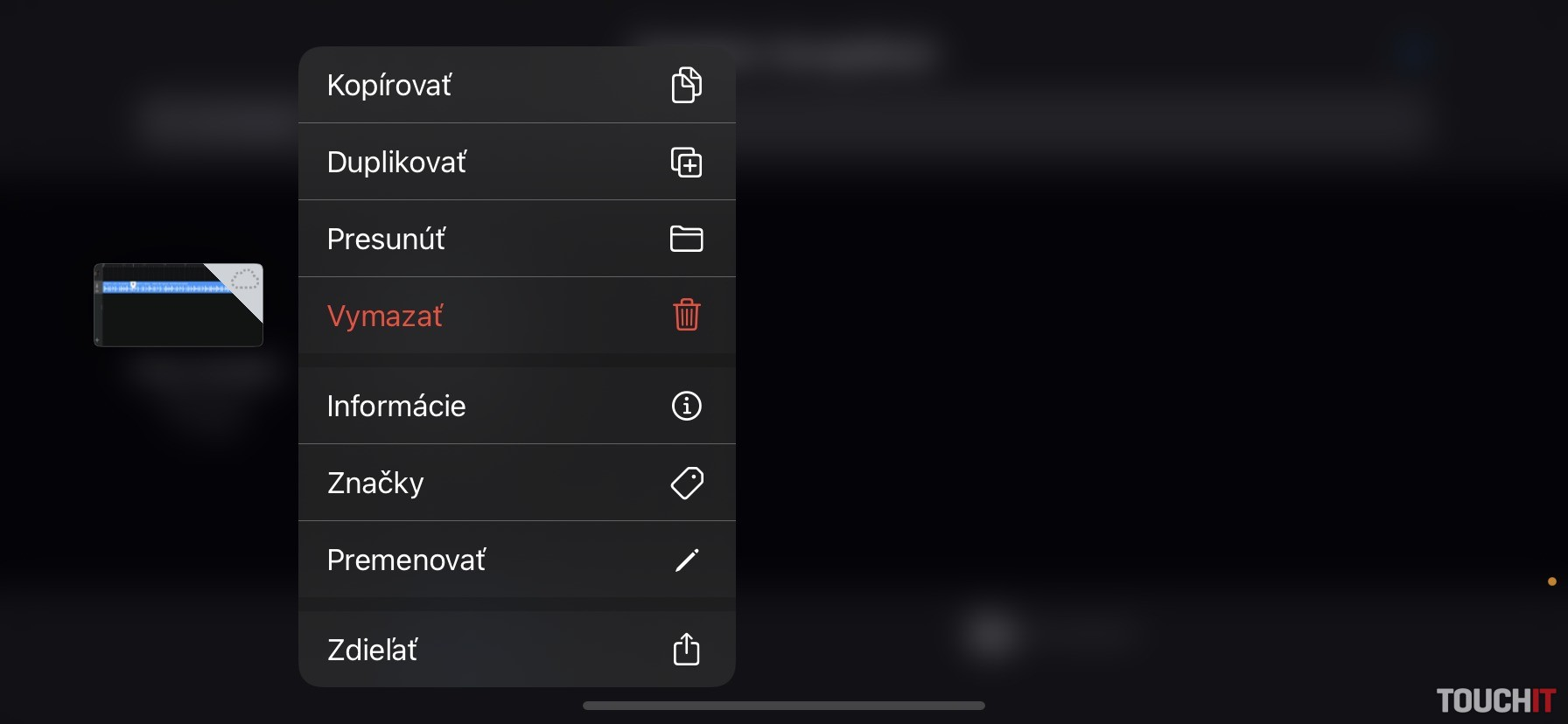 iOS - vlastné zvonenie