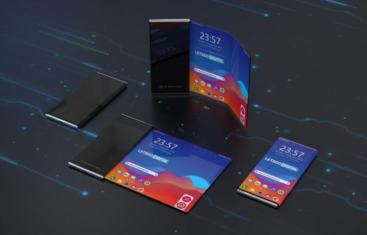 LG rolovateľný smartfón