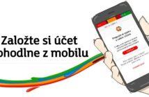 mBank umožňuje otvoriť účet pomocou mobilnej aplikácie