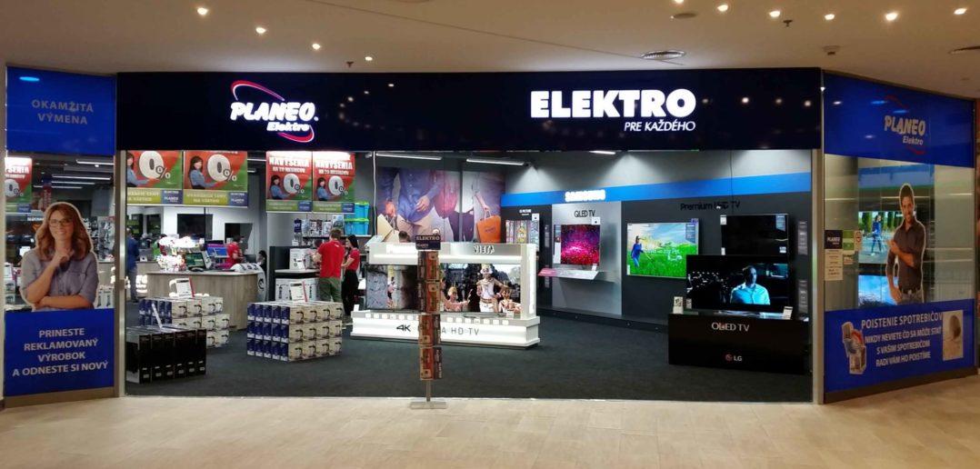 Predajňa Planeo Elektro