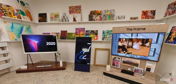 Samsung The Serif, The Sero a The Frame