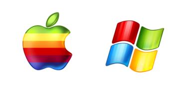 win apple logo