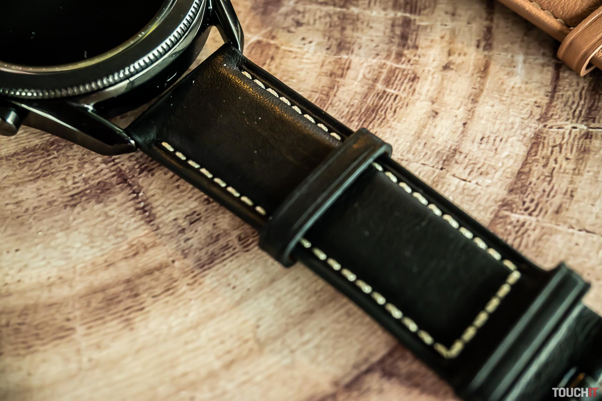 Kožený remienok pre Galaxy Watch3