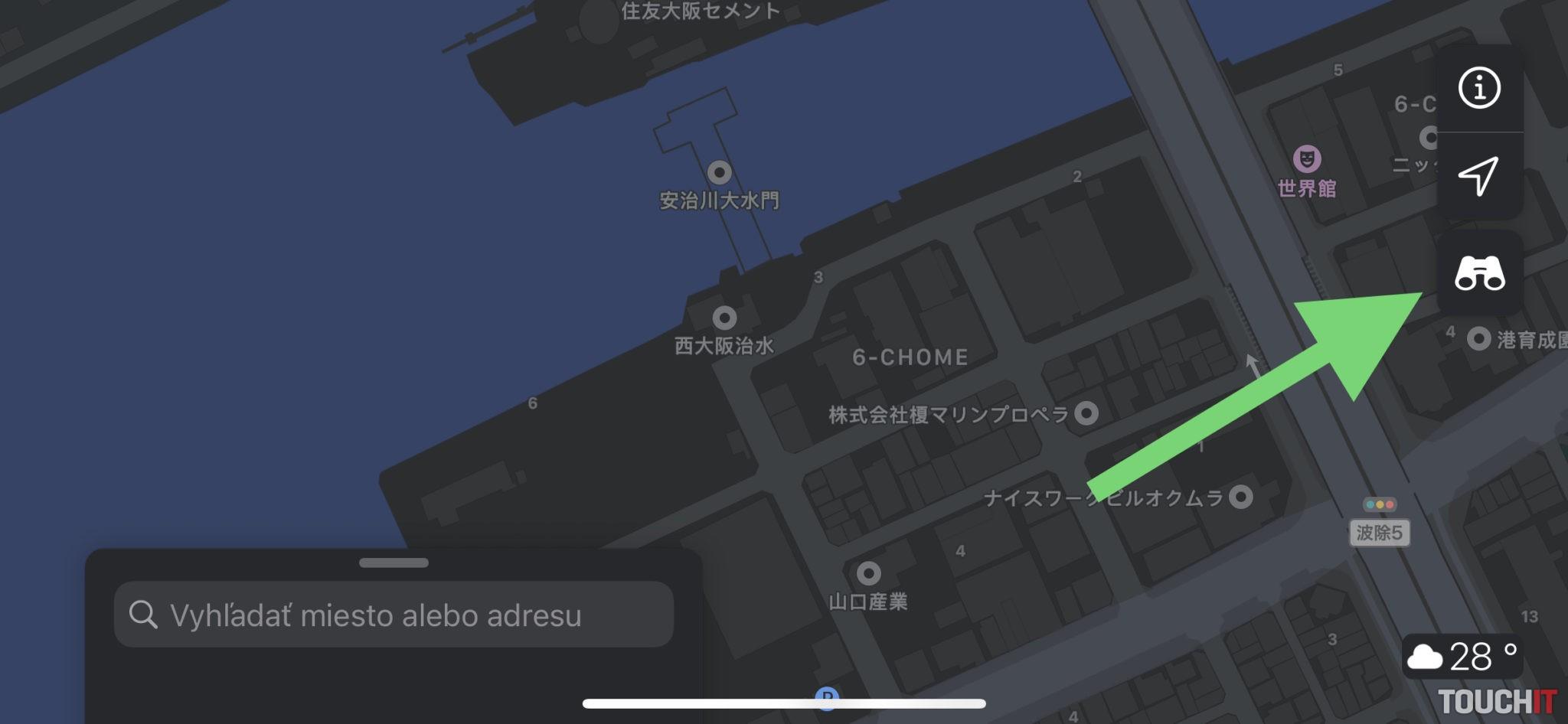 Apple Mapy _ Rozhliadni sa