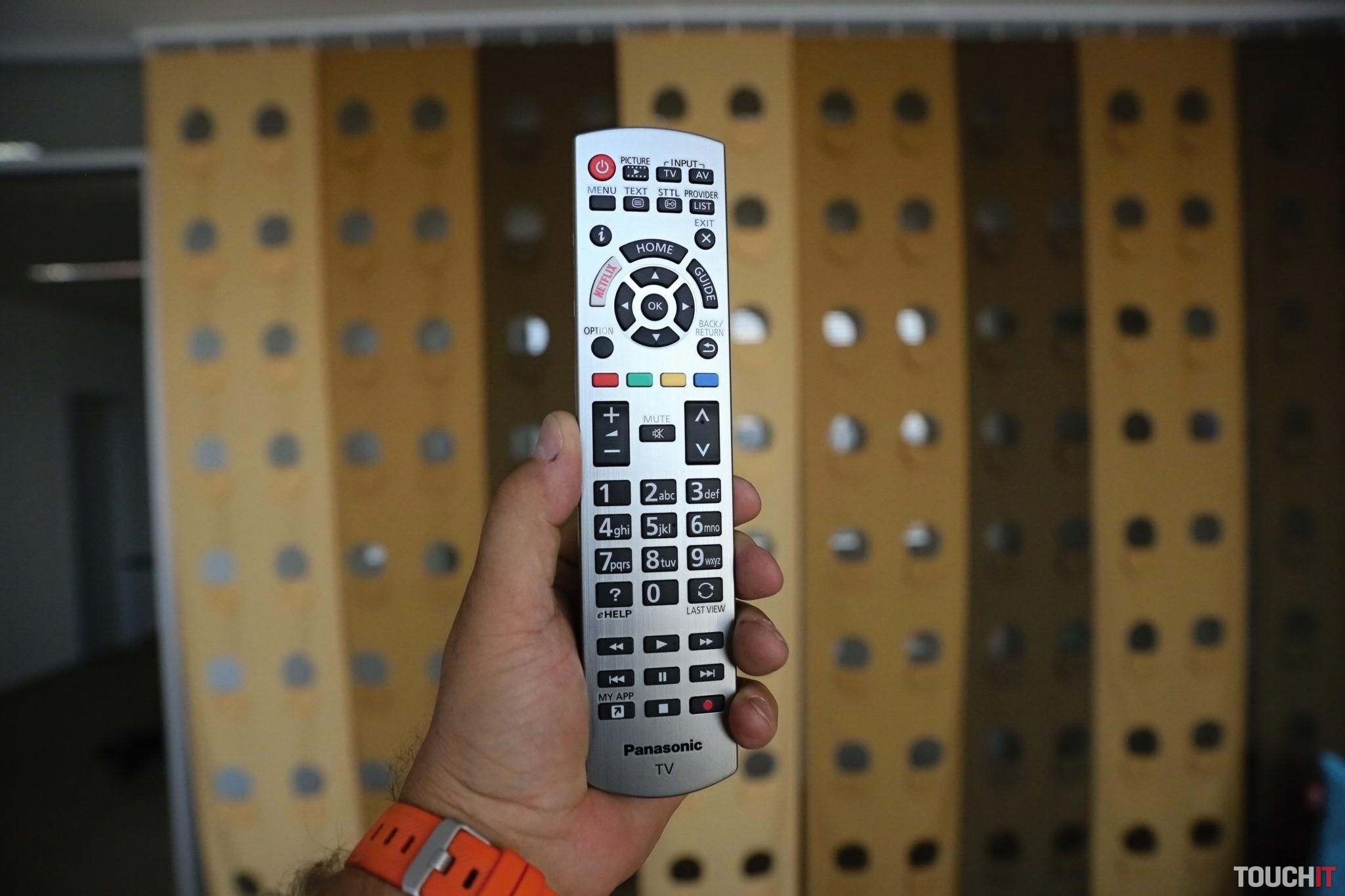 Diaľkové ovládanie z Panasonic 55HZ1500