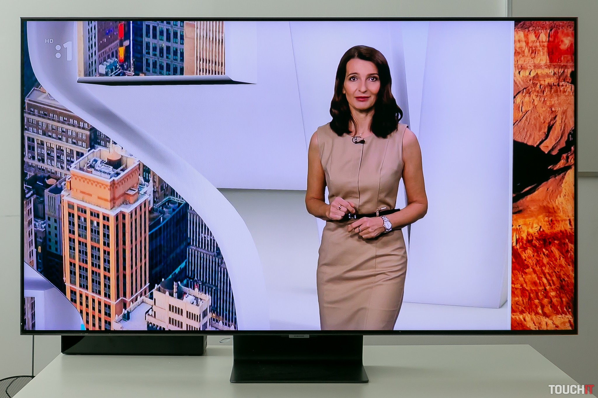 Kvalita obrazu pri televízore Samsung QE55Q95TA