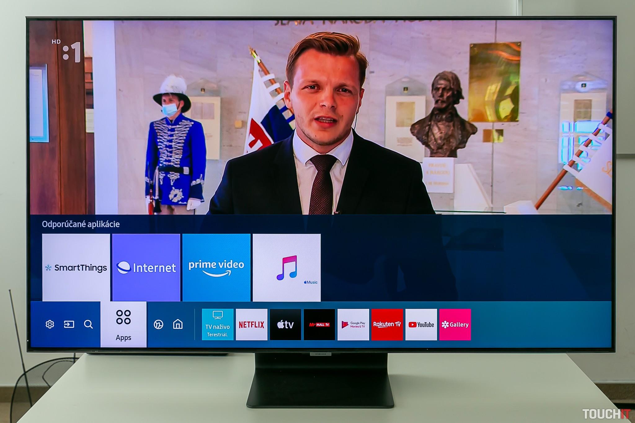 Samsung QE55Q95T so systémom SmartTV