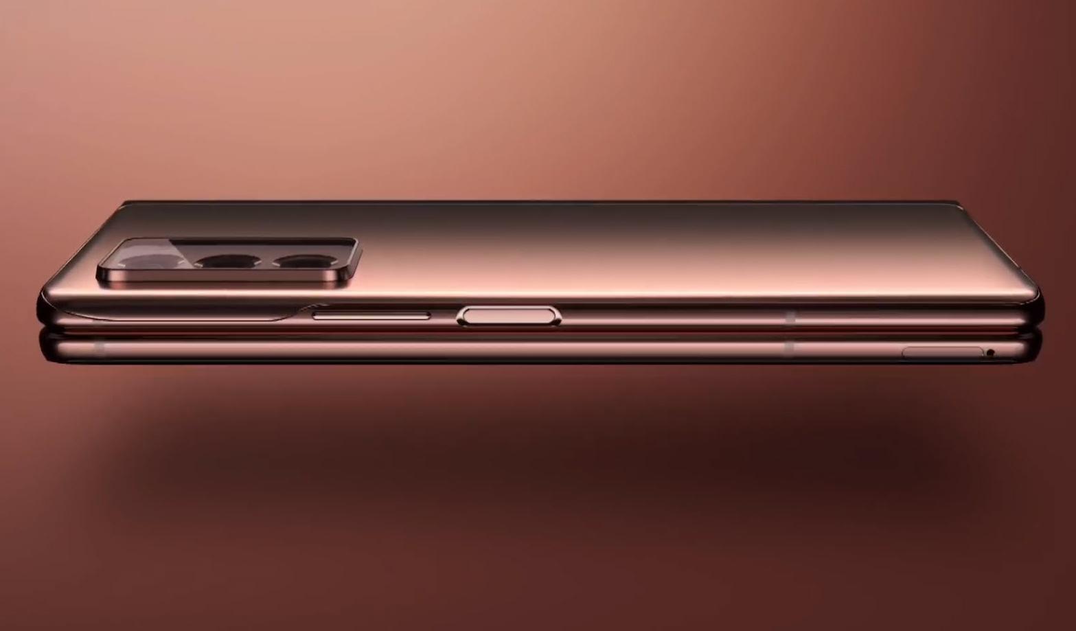 Samsung Galaxy Fold2 v zloženom stave